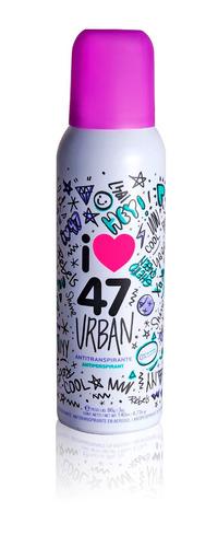 perfume eau de toilette + desodorante 47 street urban