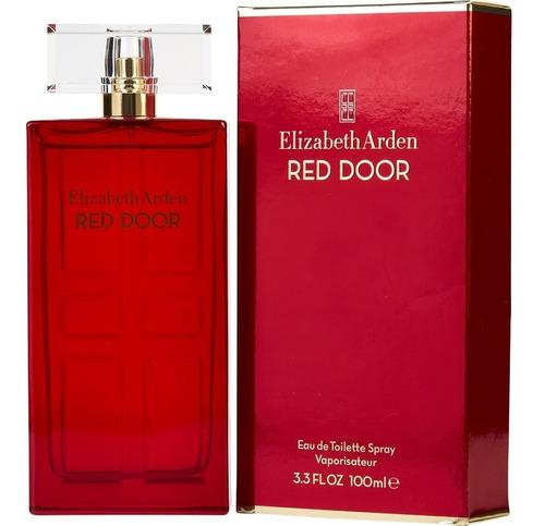 perfume elizabeth arden red door 100ml para mujer original