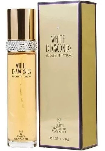 perfume elizabeth taylor diamante blanco 100ml 100% original
