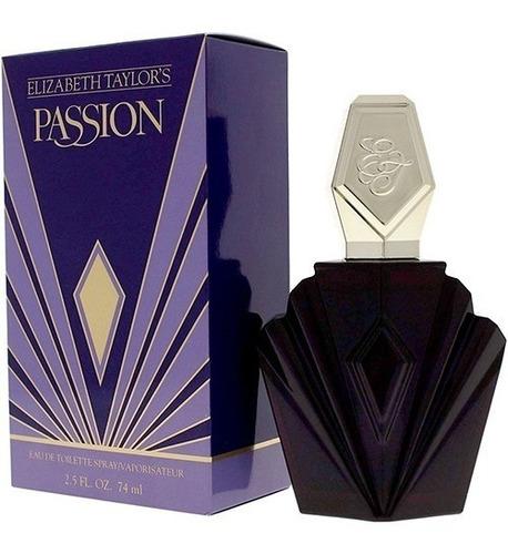 perfume elizabeth taylor passion 74ml m - l a $1377