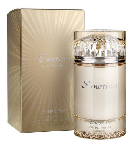perfume emotion gold lonkoom fem eau de parfum 100ml