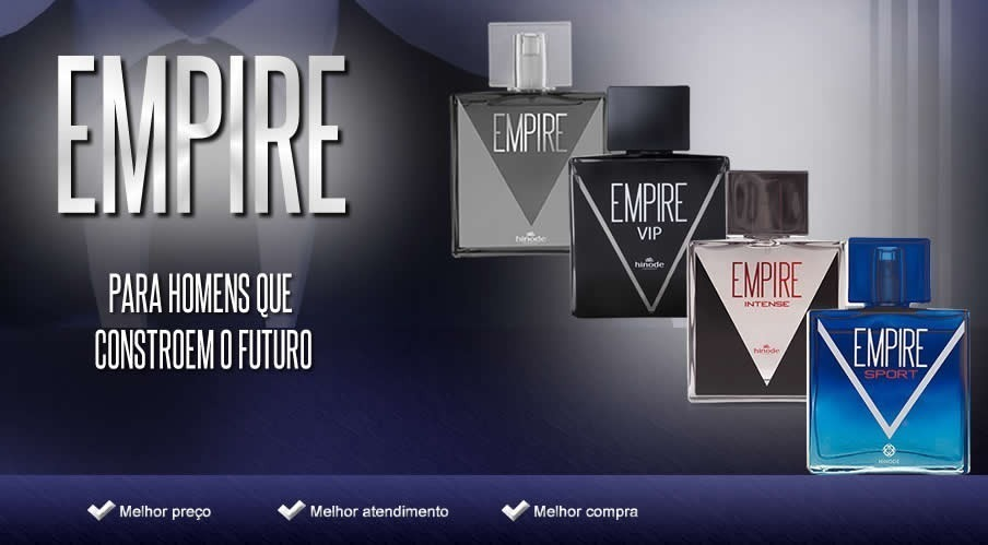 41ffd7516 perfume empire hinode - masculino lacrado 100ml original top. Carregando  zoom.