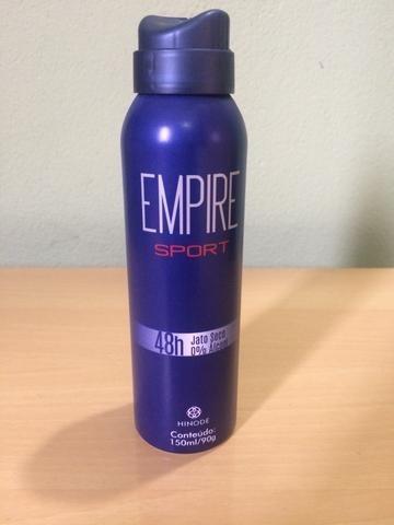 perfume empire sport + desodorante aerosol empire sport