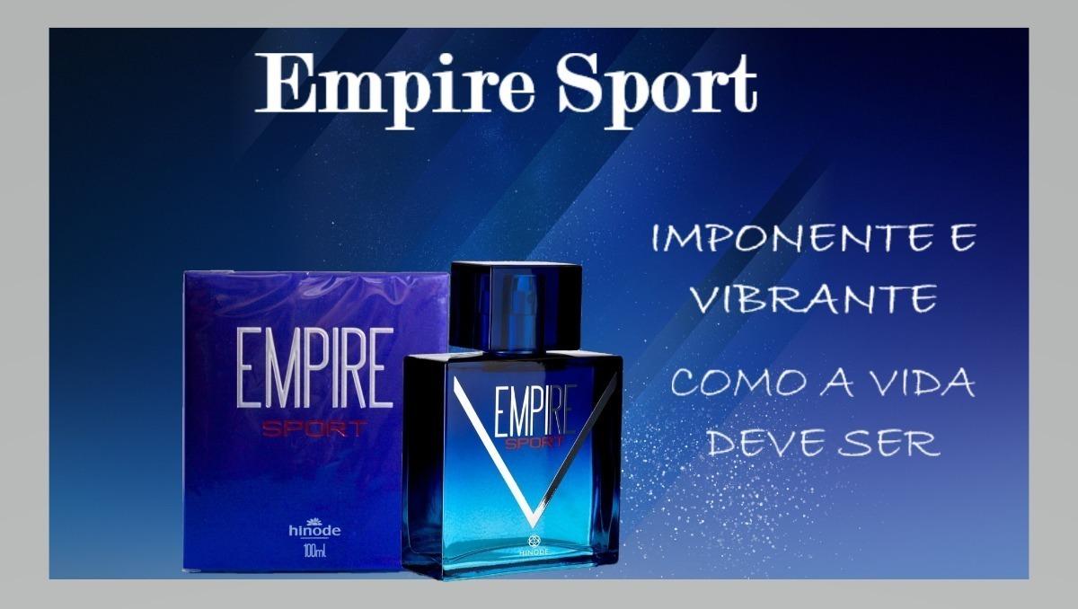 6aea36004 perfume empire sport hinode - 100ml lacrado original. Carregando zoom.