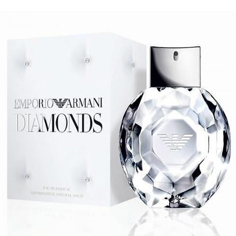 2de334712 Perfume Emporio Armani Diamonds Eau De Parfum 100 Ml - R$ 335,95 em ...