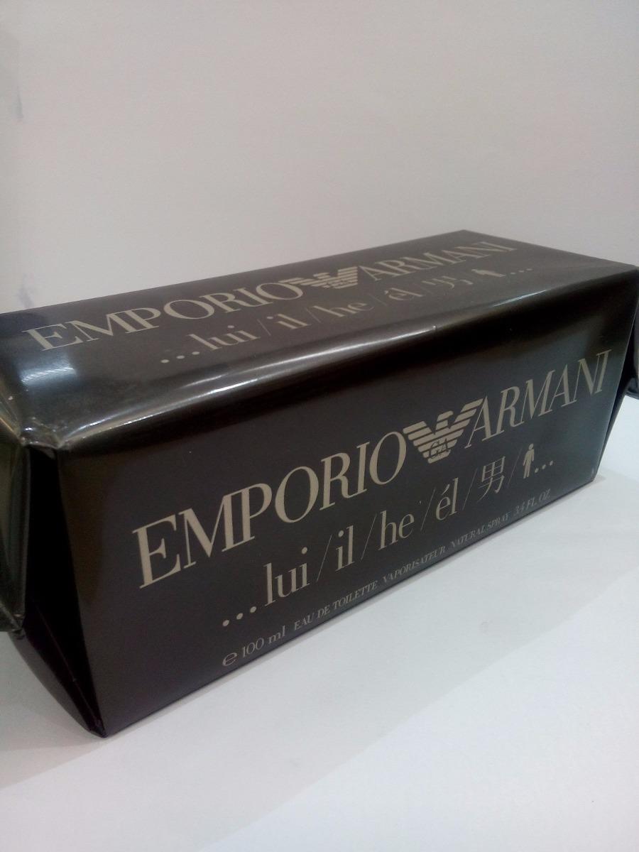49e2c67d043 perfume emporio armani he giorgio armani 100 ml masculino. Carregando zoom.