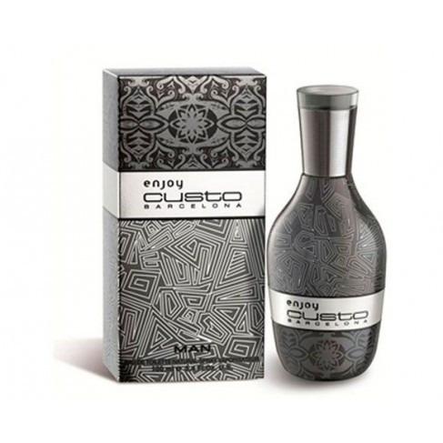 perfume enjoy custo barcelona 100ml para hombre