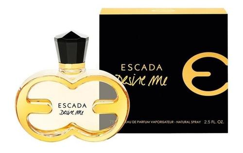 perfume escada desire me edp 75 ml dama
