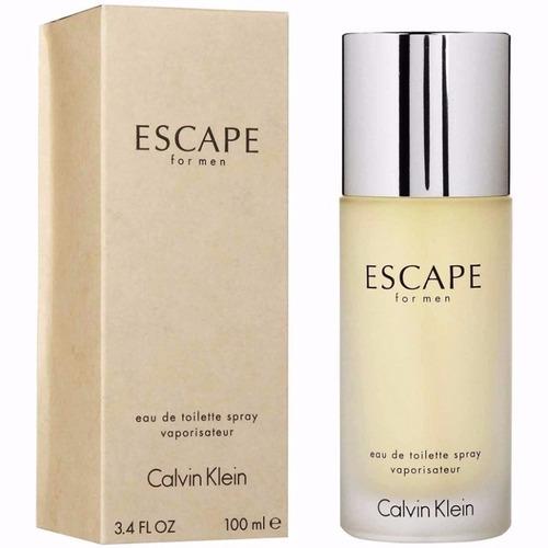 perfume escape by calvin klein 100ml -- 100% original