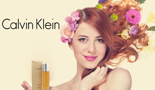 perfume escape calvin klein 100 ml para mujer original.