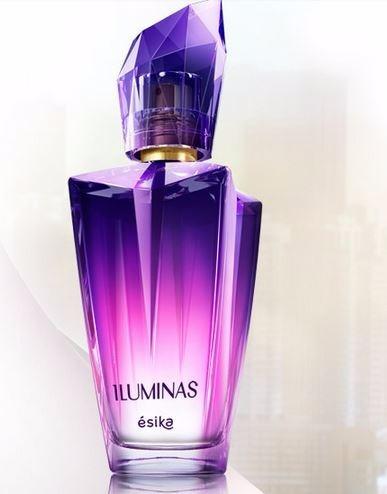 perfume esika iluminas sensual aroma a rosas y jazmin