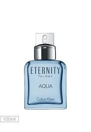 perfume eternity aqua calvin klein for men 100ml edt - novo