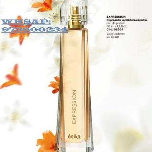 perfume expressions -esika-lima