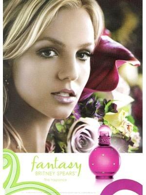 perfume fantasy de britney spears para - ml a $950