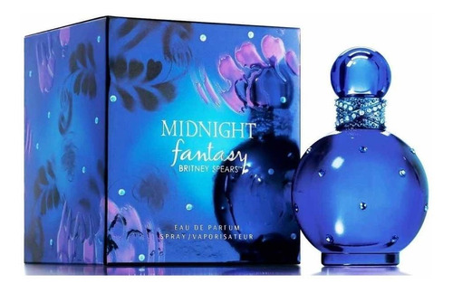 perfume fantasy midnight britney 100 ml - l a $1400