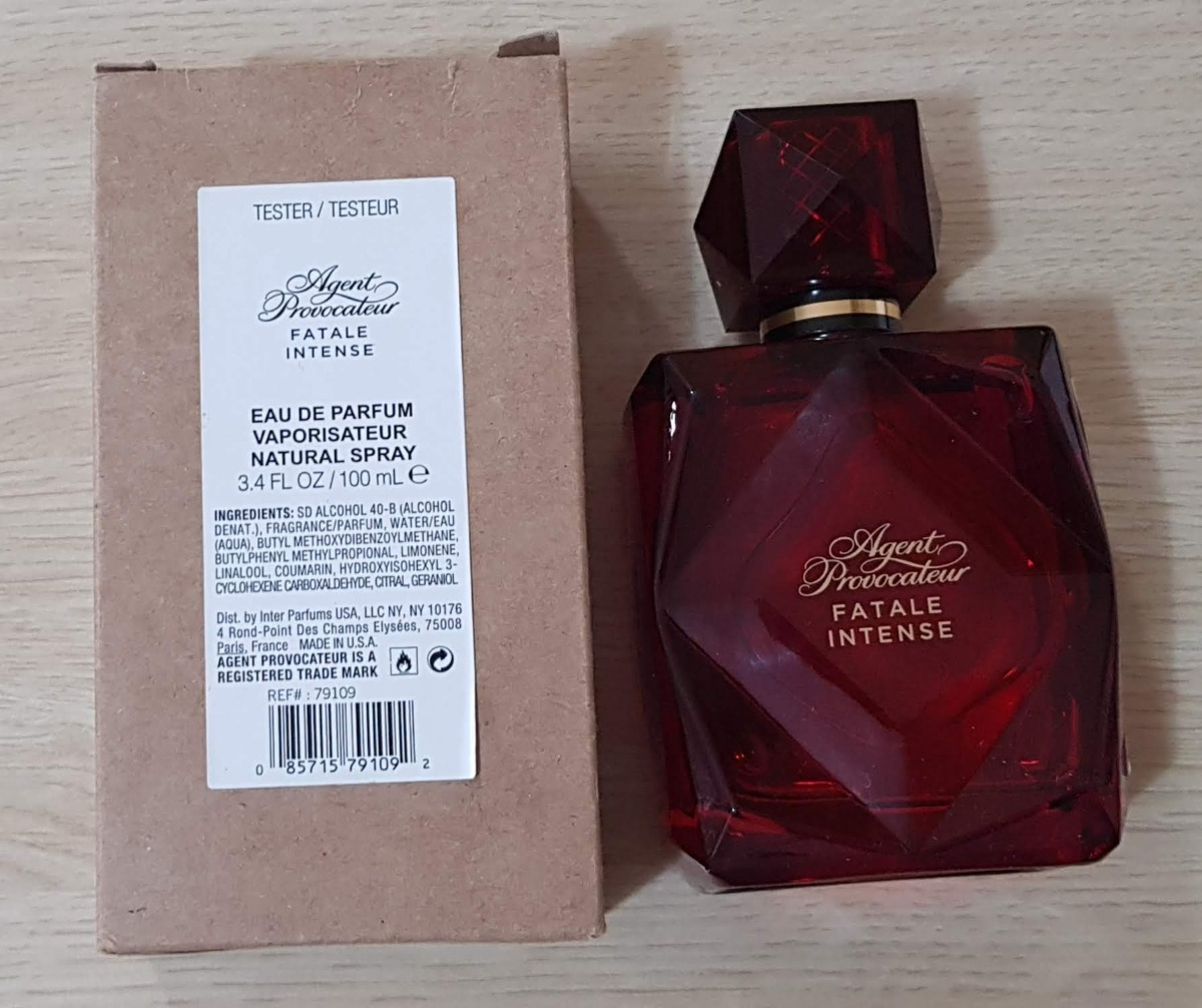 perfume fatale intense agent provocateur edp 100ml tester. Carregando zoom. c65a645f3