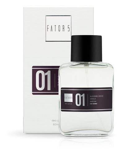 perfume fator 5 - no. 01 (inspiração: angel)