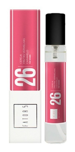 perfume fator 5 - no. 26 pocket (inspiração: fantasy)