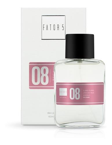 perfume fator 5 - numero  08 (inspiração: channel 5)