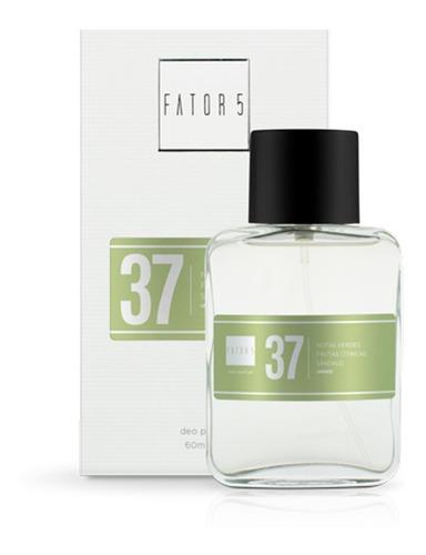 perfume fator 5 - numero 37 (inspiração: ck one)