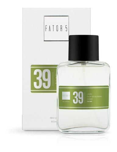 perfume fator 5 - numero 39 (inspiração: armani code)