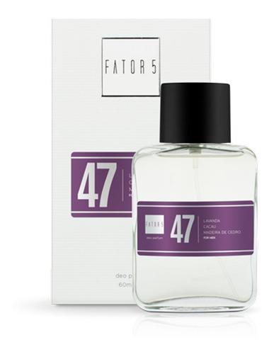 perfume fator 5 - numero 47 (inspiração: animale)