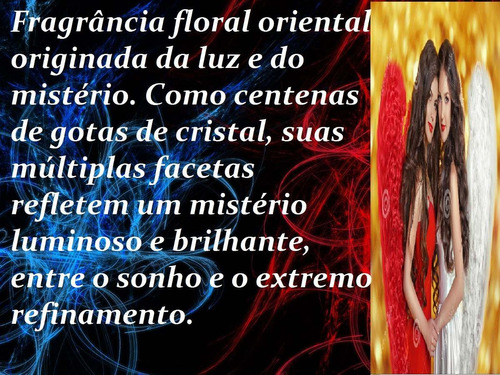 perfume feminino ange or demon 100ml original hinode