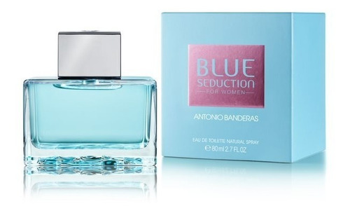 perfume feminino antonio banderas blue seduction woman 80ml