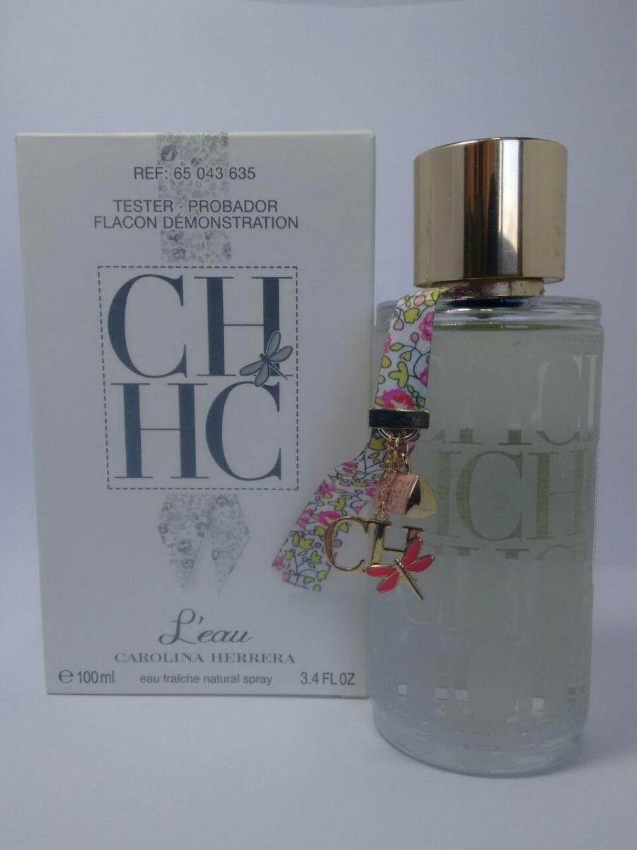 perfume feminino carolina herrera ch l`eau 100ml - tester. Carregando zoom. ac2846ac51