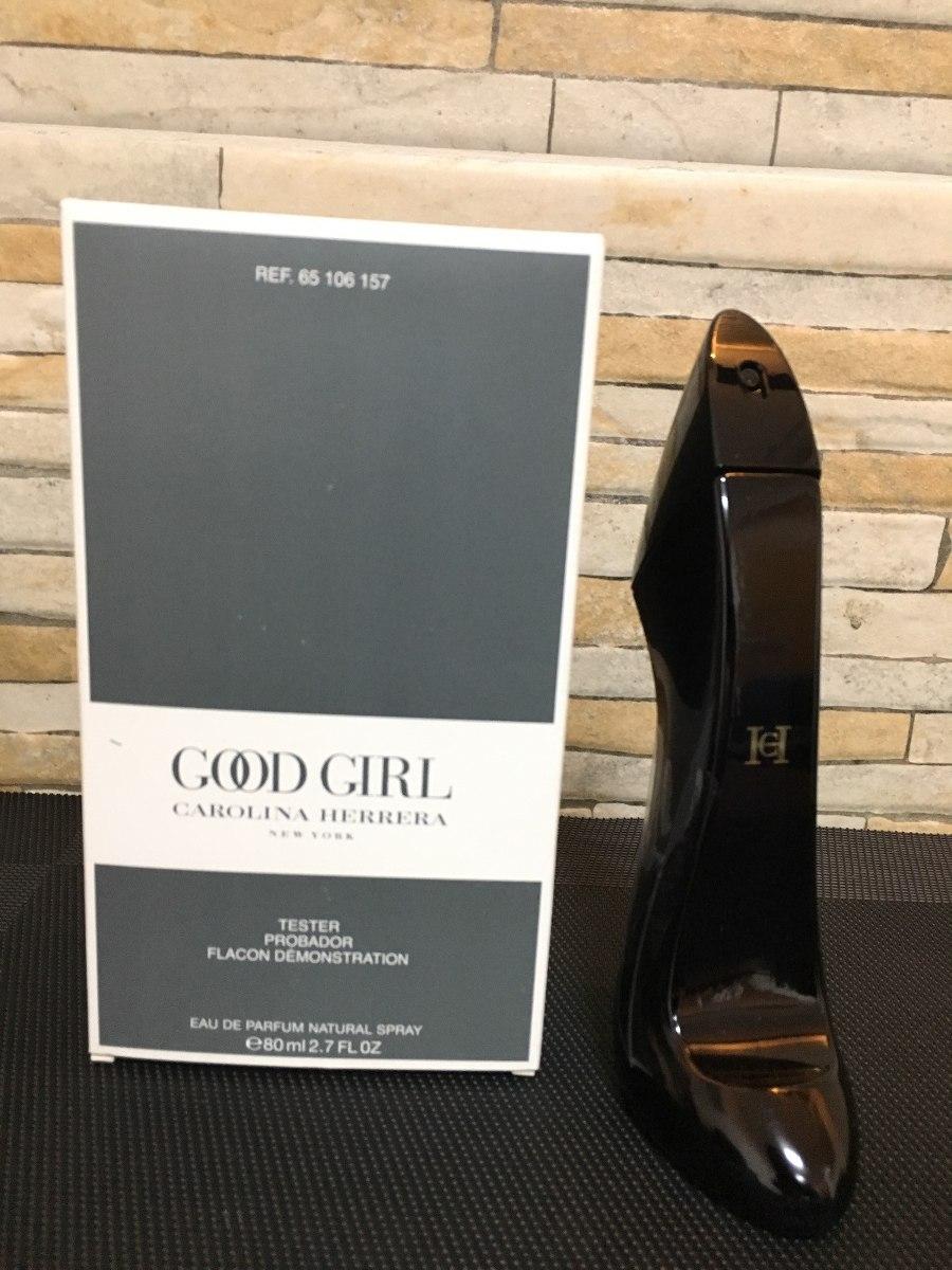 perfume feminino carolina herrera good girl edp 80ml tester. Carregando  zoom. 3a1deb222b