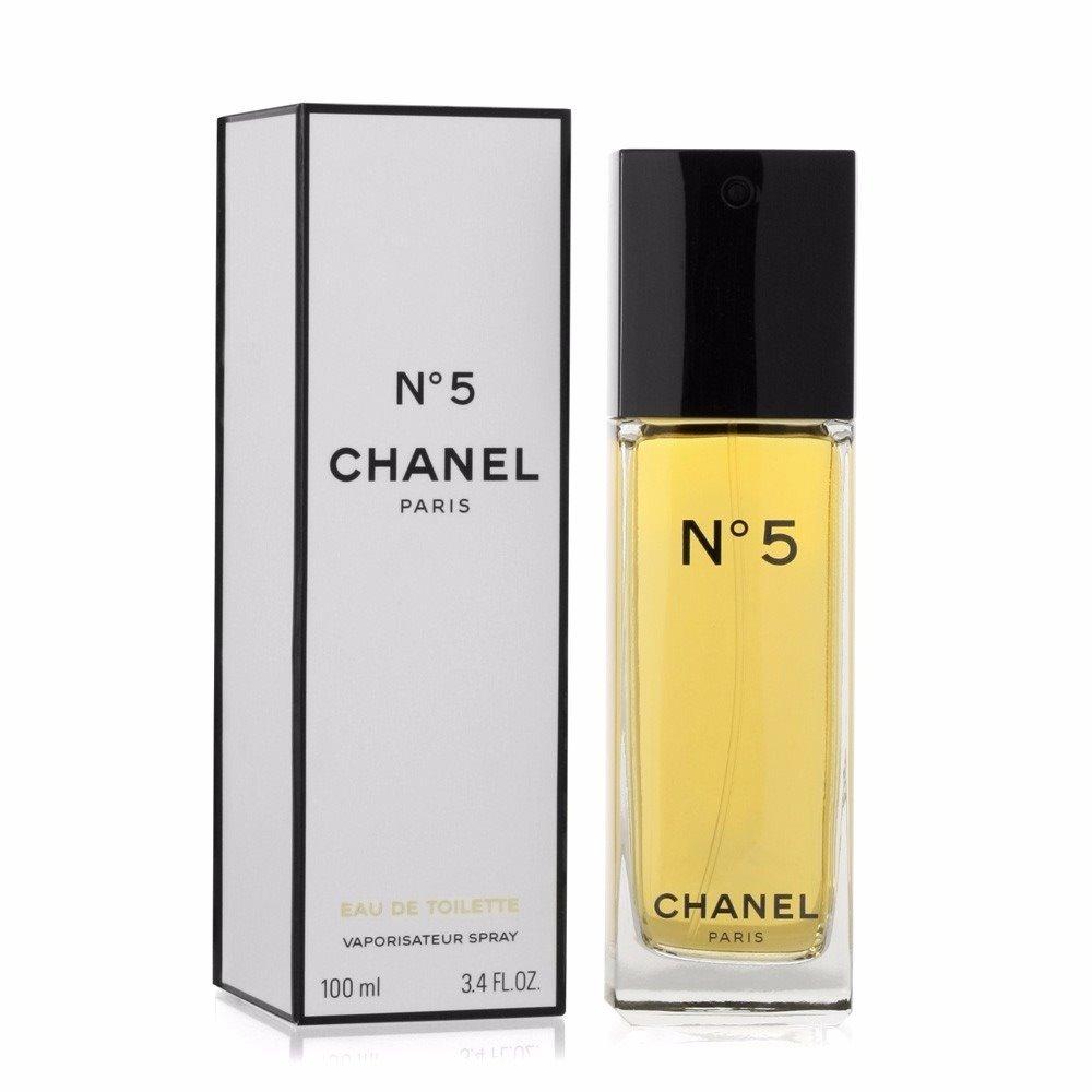 315cb1451f5 Características. Marca Chanel  Nome do perfume Nº 5  Gênero Feminino  Tipo de  perfume Eau de toilette  Volume 100 mL ...
