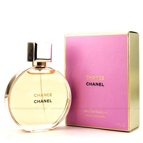 2bb3c117cf4 Perfume Feminino Chanel Chance Edp 100ml - R  605