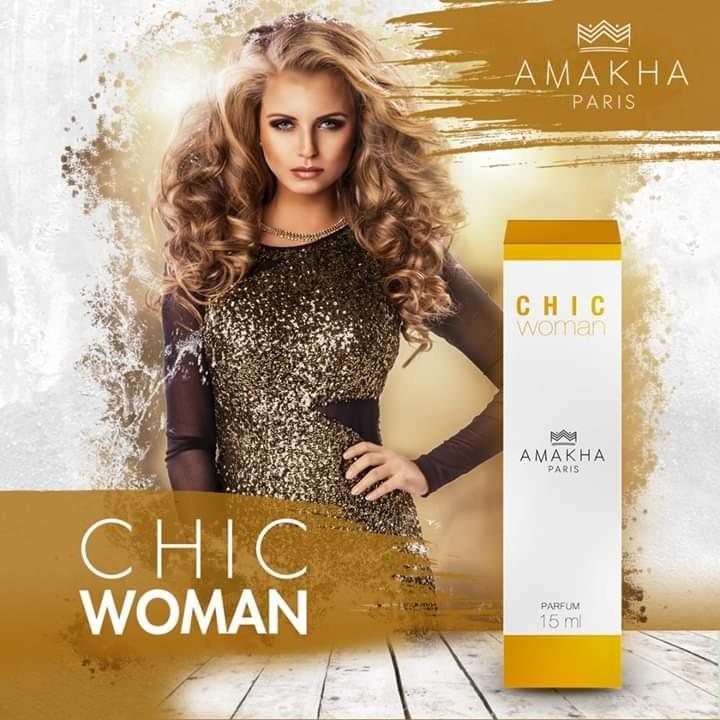 f05fe0c88 Perfume Feminino Chic Woman Amakha Paris - R$ 42,90 em Mercado Livre
