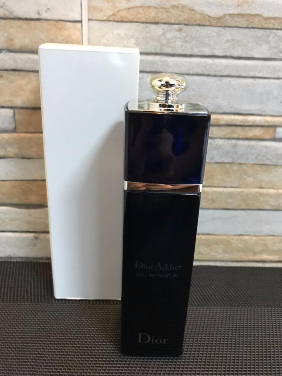 2082ec00b62 perfume feminino christian dior addict edp 100ml - tester. Carregando zoom.