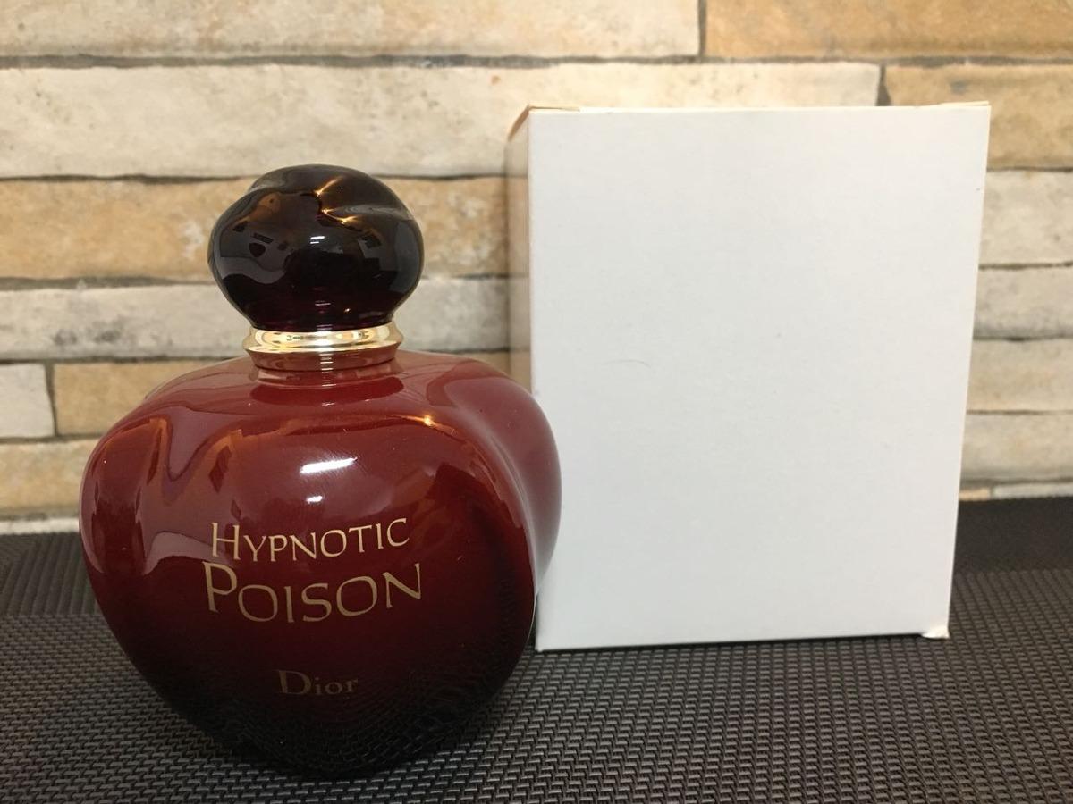 9eac6459704 perfume feminino dior hypnotic poison edt 100ml tester. Carregando zoom.