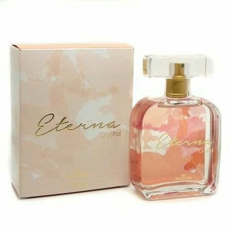 perfume feminino eterna crystal original exclusividade