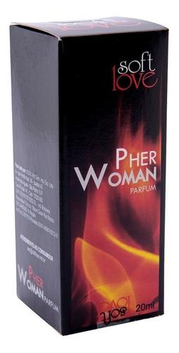 perfume feminino feromônio pher woman afrodisíaco 20ml