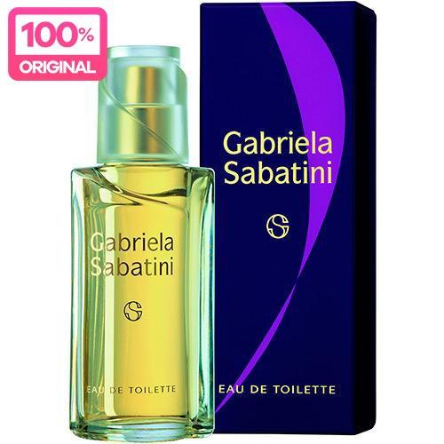 perfume feminino gabriela sabatini edt 60ml 100% original