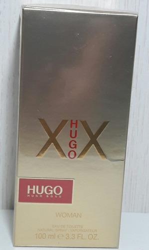 perfume feminino hugo boss xx 100 ml edt importado original.