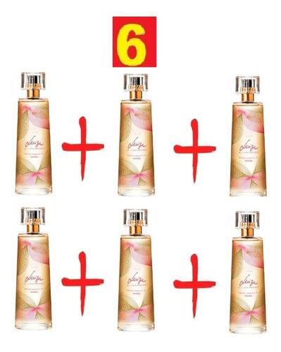 perfume feminino luiza brunet kit com 6 unds 100 ml cada