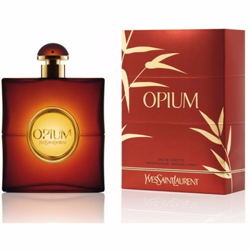 perfume feminino yves saint laurent opium 90ml edt
