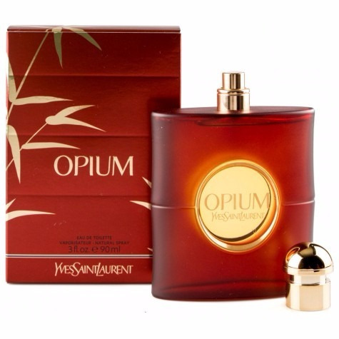 perfume feminino yves saint laurent opium 90ml edt original