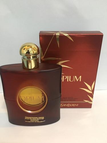 perfume feminino yves saint laurent opium 90ml edt tester