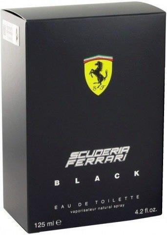 perfume ferrari black 125m - pronta entrega - frete grátis