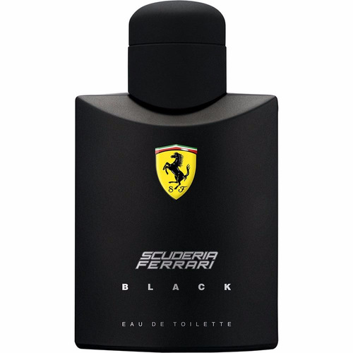 perfume ferrari black 125ml - 100% original