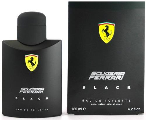 perfume ferrari black 125ml 100% original made in italy