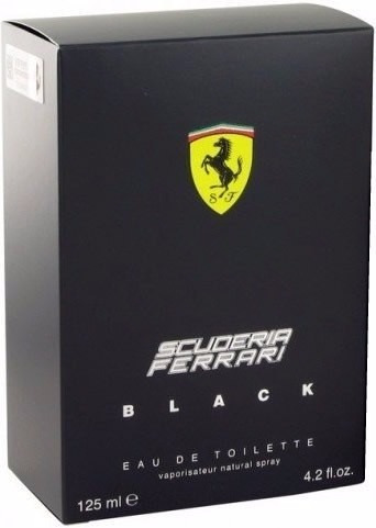 perfume ferrari black 125ml!