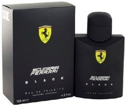 perfume ferrari black 125ml original! imperdivél!