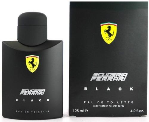 perfume ferrari black 125ml original (promoção)