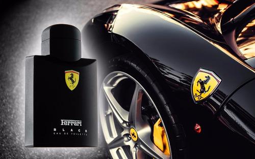 perfume ferrari black eau de toilette masculino 125ml
